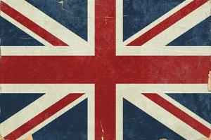 Union Jack - Distressed by Lantern Press