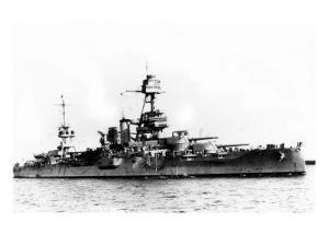 USS Texas Ship by Lantern Press
