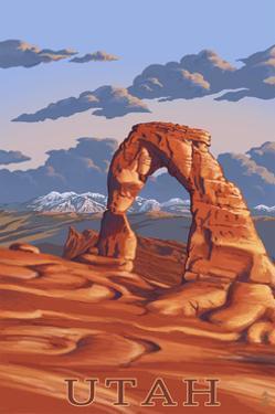 Utah - Delicate Arch by Lantern Press