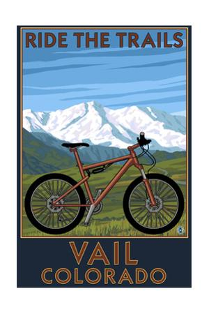 Vail, Colorado - Ride the Trails, Mountain Bike