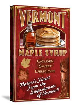 Vermont - Maple Syrup by Lantern Press