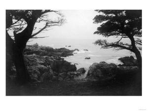View of Monterey Bay from 17 Mile Drive - Carmel, CA by Lantern Press