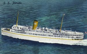 View of Nassau Cruises Liner SS Florida by Lantern Press