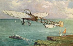 View of the Bleriot Aeroplane by Lantern Press