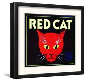 Villa Park, California, Red Cat Brand Citrus Label by Lantern Press