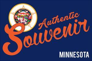 Visited Minnesota - Authentic Souvenir by Lantern Press