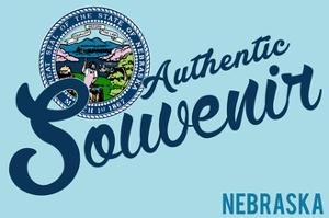 Visited Nebraska - Authentic Souvenir by Lantern Press