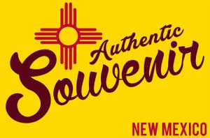 Visited New Mexico - Authentic Souvenir by Lantern Press