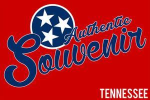 Visited Tennessee - Authentic Souvenir by Lantern Press