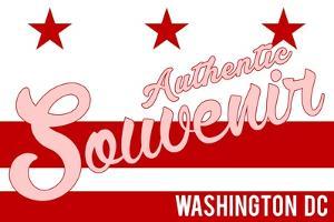 Visited Washington DC - Authentic Souvenir by Lantern Press