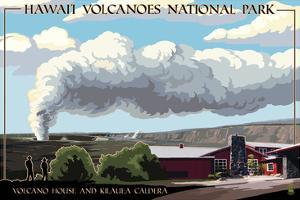 Volcano House - Hawaii Volcanoes National Park by Lantern Press