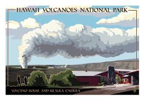 Volcano House - Hawaii Volcanoes National Park by Lantern Press