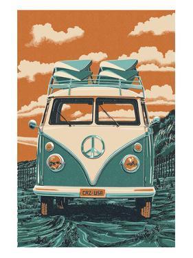VW Van by Lantern Press
