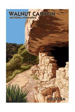Walnut Canyon National Monument, Arizona by Lantern Press
