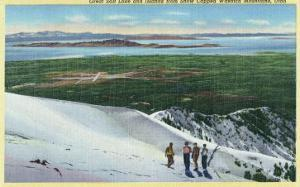 Wasatch Mountains, Utah, Aerial View of Great Salt Lake and Islands from Mt by Lantern Press