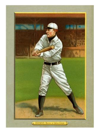 Washington D.C., Washington Nationals, George Browne, Baseball Card by Lantern Press