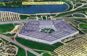 Washington DC, Aerial View of the Pentagon Building by Lantern Press