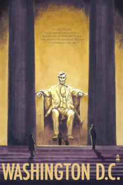 Washington DC, Lincoln Memorial by Lantern Press
