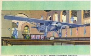 Washington DC - Smithsonian Institution; Spirit of St. Louis Plane by Lantern Press