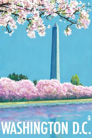 Washington DC, Washington Monument by Lantern Press