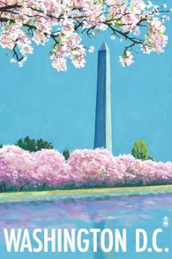 Washington DC, Washington Monument by Lantern Press