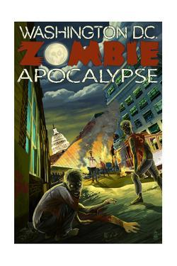 Washington, DC - Zombie Apocalypse by Lantern Press