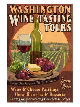 Washington Wine Tasting by Lantern Press