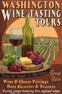 Washington Wine Tasting by Lantern Press