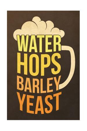 Water, Hops, Barley, Yeast - Beer