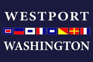 Westport, Washington - Nautical Flags by Lantern Press