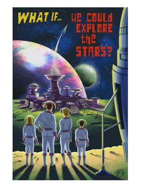What If We Could Explore the Stars? by Lantern Press
