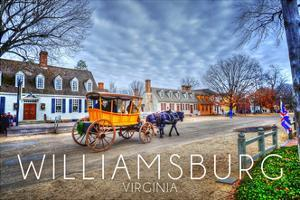 Williamsburg, Virginia - Horse and Buggy by Lantern Press