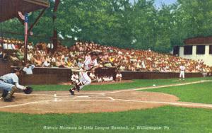 Williamsport, Pennsylvania - Kids Playing Little League Baseball by Lantern Press