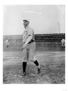 Willie Mitchell, Cleveland Indians, Baseball Photo - Cleveland, OH by Lantern Press