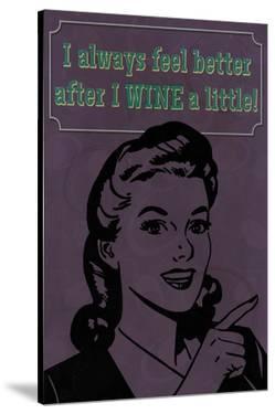 Wine a Little by Lantern Press