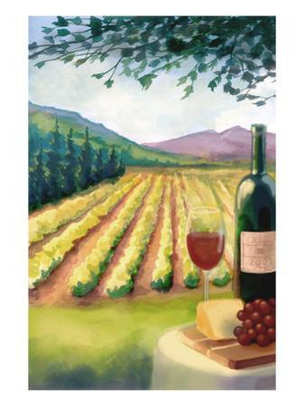 Wine Country and Vineyard by Lantern Press