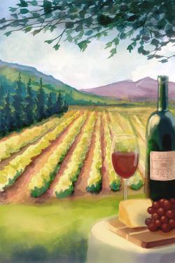 Wine Watercolor by Lantern Press