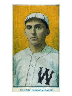 Winston-Salem, NC, Winston-Salem Minor League, Gilmore, Baseball Card by Lantern Press