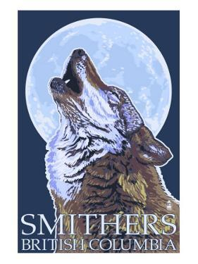 Wolf Howling - Smithers, BC, Canada by Lantern Press