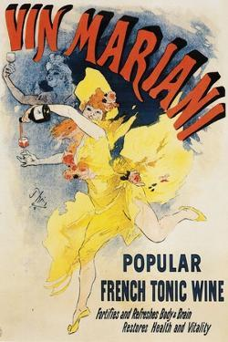Women Dancing - Vintage Vin Mariani Poster by Lantern Press