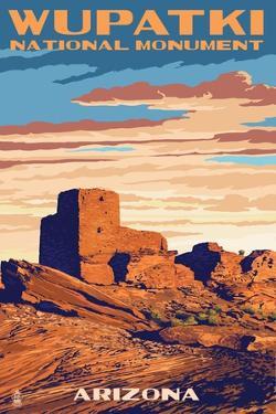 Wupatki National Monument, Arizona by Lantern Press
