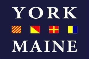 York, Maine - Nautical Flags by Lantern Press