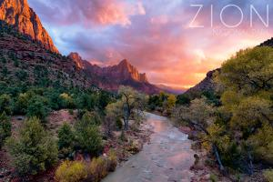 Zion National Park, Utah - the Watchman by Lantern Press