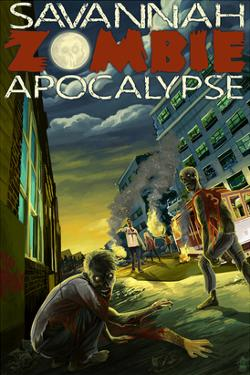 Zombie Apocalypse - Savannah, Georgia by Lantern Press