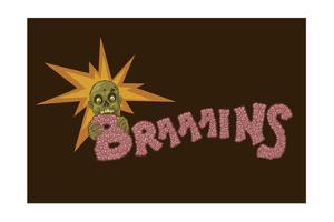 Zombie - Brains by Lantern Press