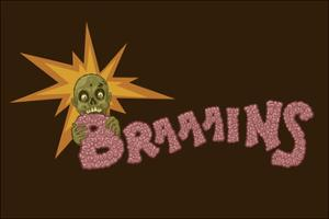 Zombie - Brains by Lantern Press
