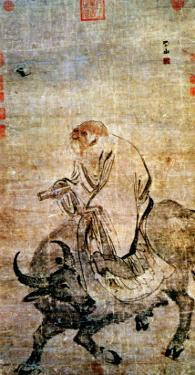Lao-Tzu (circa 604-531 BC) Riding His Ox, Chinese, Ming Dynasty (1368-1644)