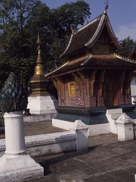 Laos, Luang Phrabang, Wat Xieng Thong Temple