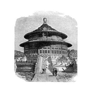 The Temple of Heaven, Peking, C1890 by Laplante
