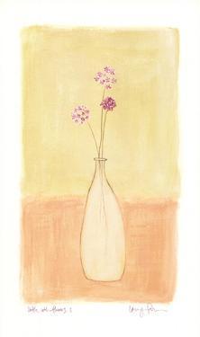 Bottle With Flowers l by Lara Jealous
